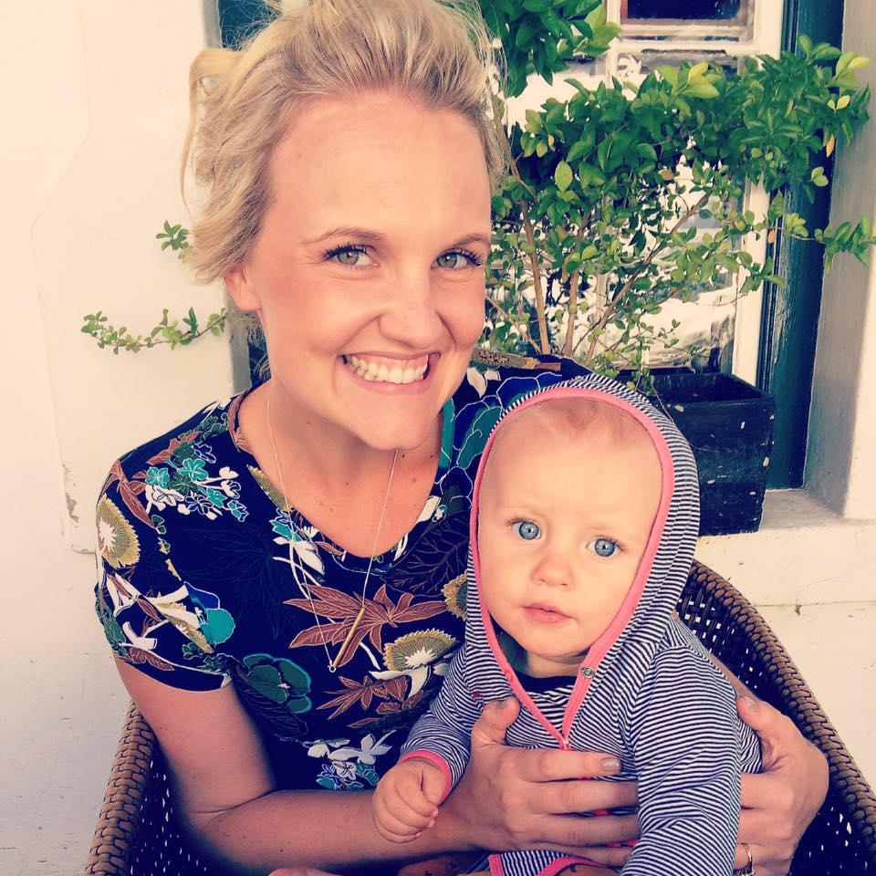 Alana van Heerden and her son, Dawid