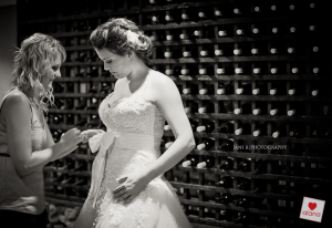 Nicola Momberg's dress by Alana van Heerden Wedding Gowns