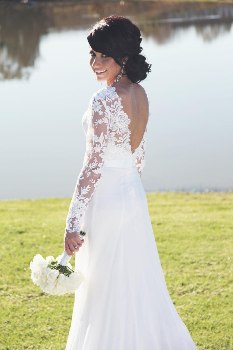 Elsje's gorgeous gown by Alana van Heerden