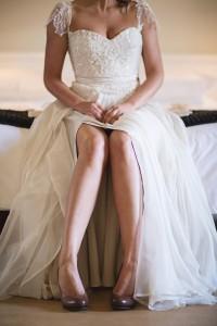 Tina's Forest Fairy Dress by Alana van Heerden Wedding Gowns