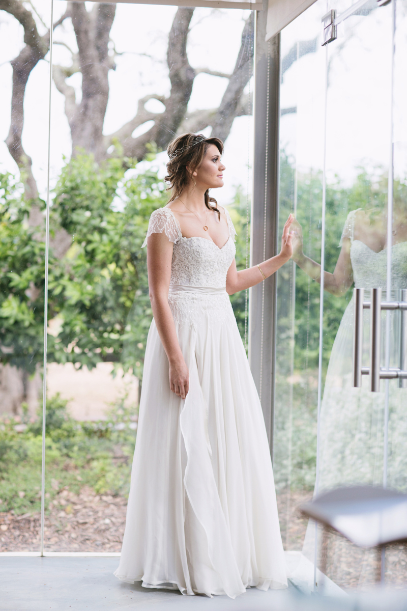 Tina's Forest Fairy Dress by Alana van Heerden Wedding Gowns