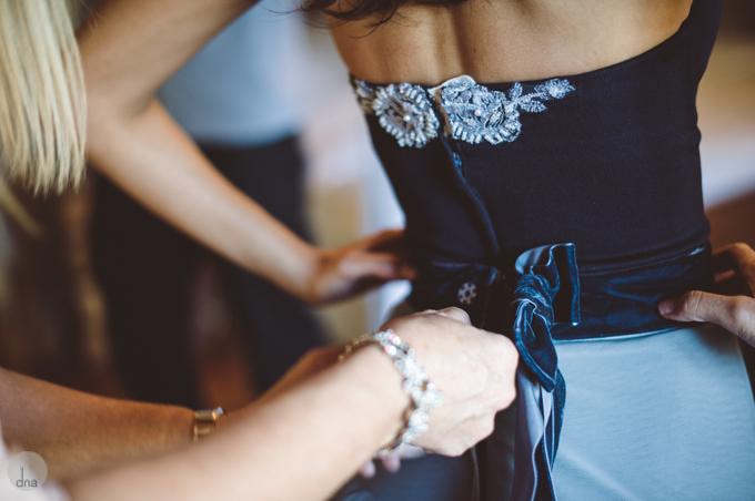 Anja's Blue dress by Alana van Heerden Wedding Gowns