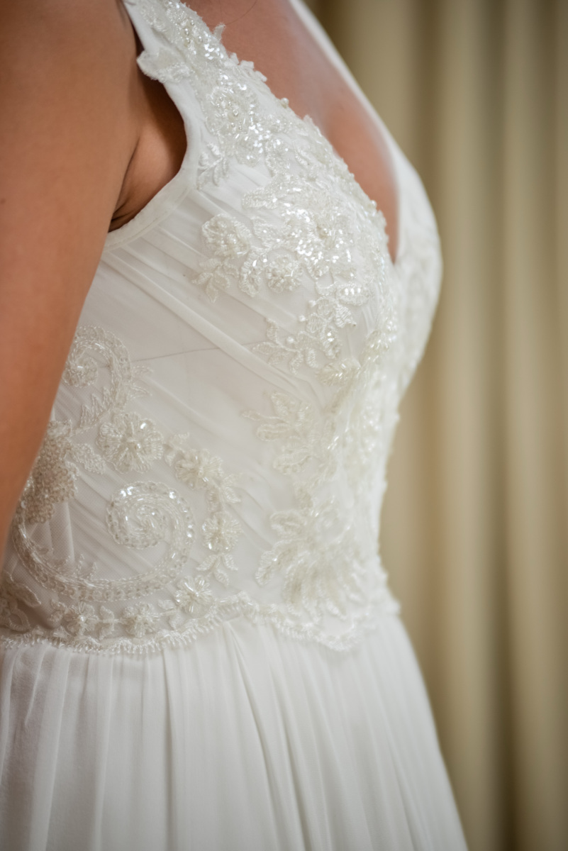 Christelle's Wedding Dress by Alana