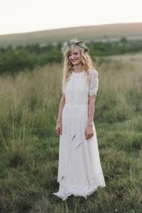 Katrien's Beautiful Boho Gown
