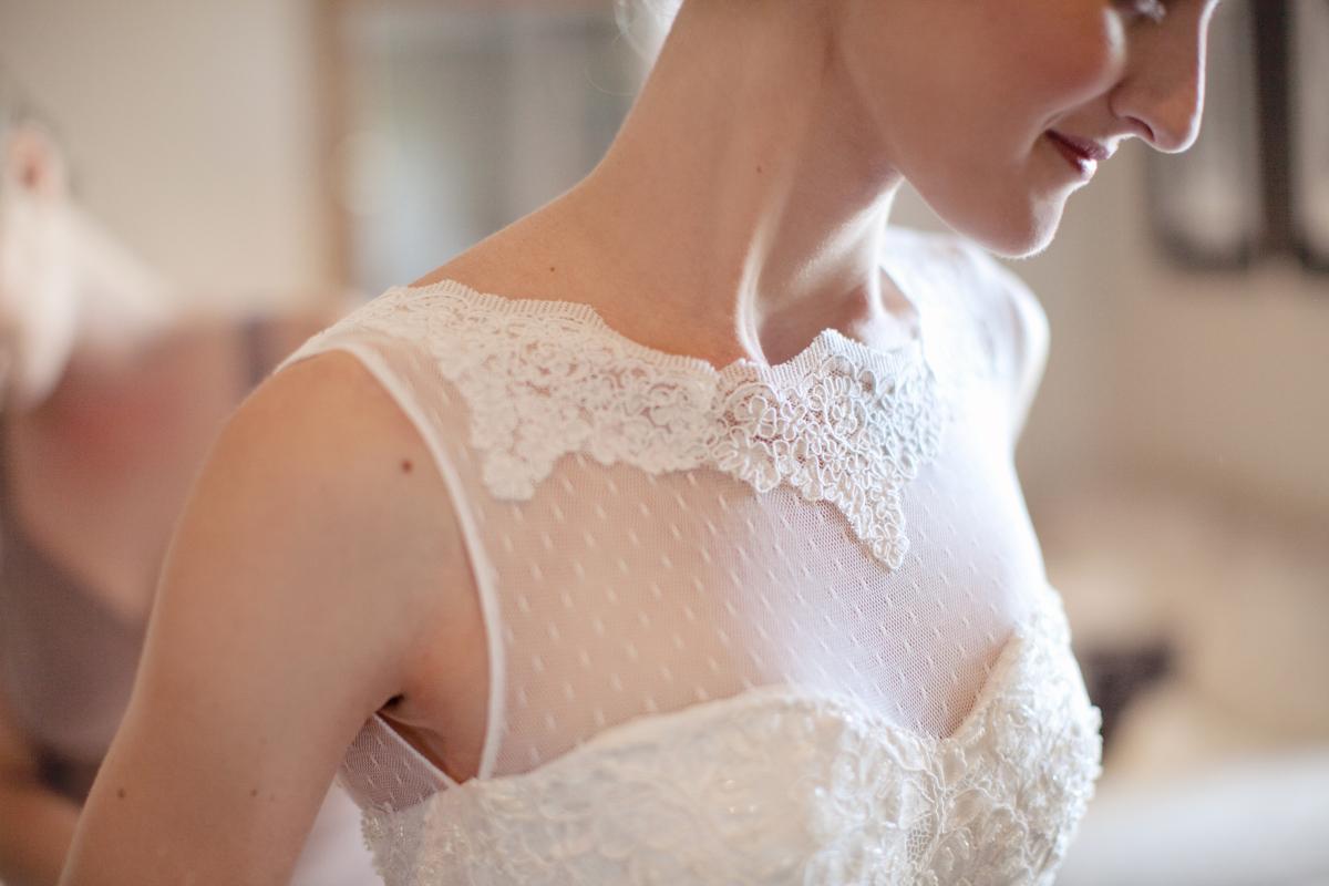Carli 's Classic Wedding Dress by Alana