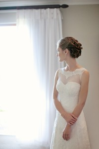 Carli 's Classic Wedding Dress by Alana
