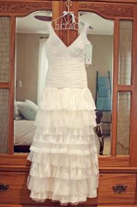 Elmarie Viljoen's dress by Alana van Heerden Wedding Gowns