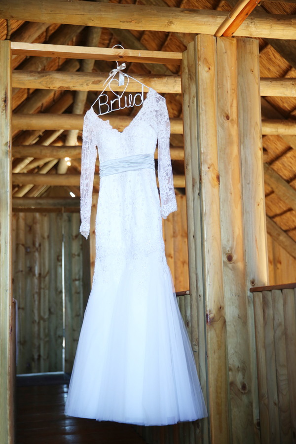 Ubré's Winter Wonderland Wedding Dress by Alana