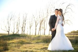 Ubré's Winter Wonderland Wedding Dress by Alana