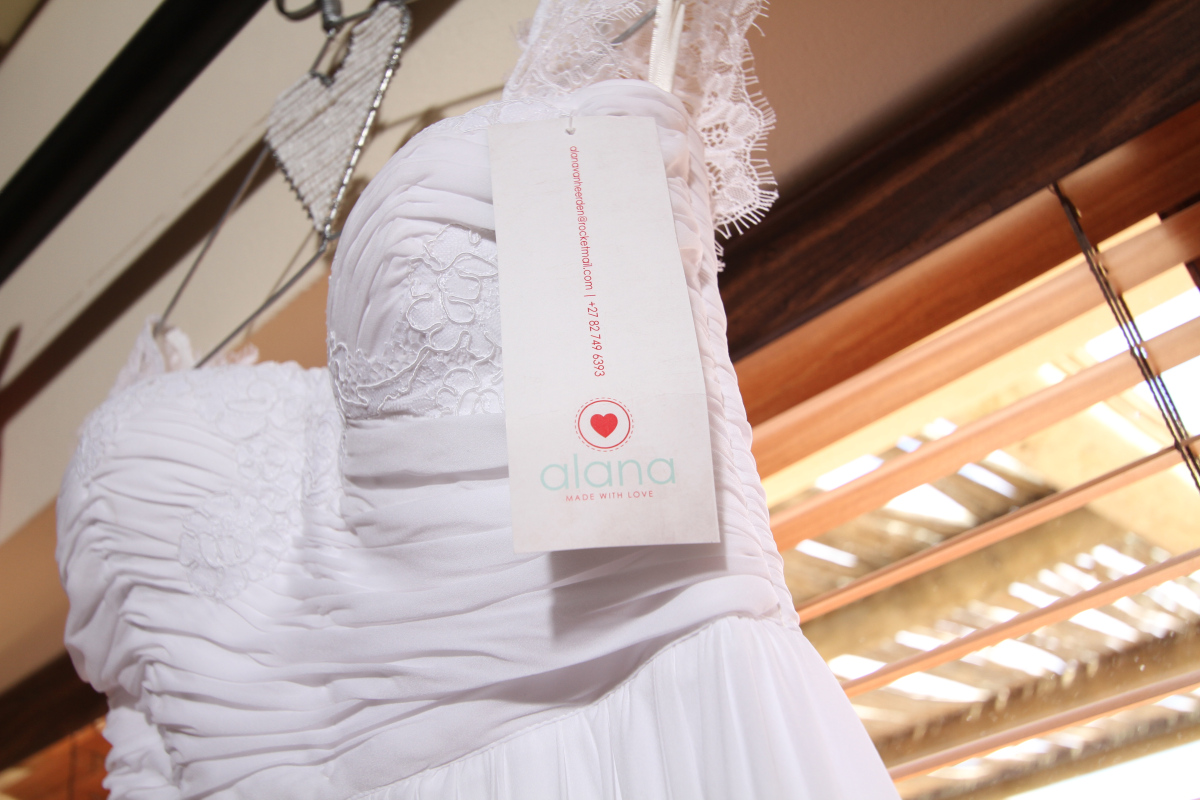 Juané's dress by Alana van Heerden Wedding Gowns