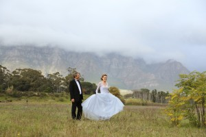 Minette's Winter Wedding Dress by Alana van Heerden Wedding Gowns