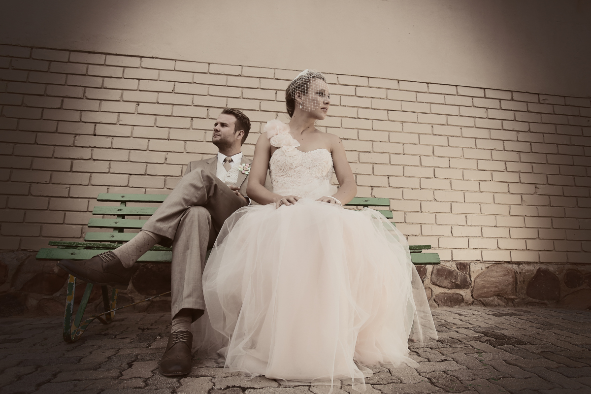 Chandré's dress by Alana van Heerden Wedding Gowns