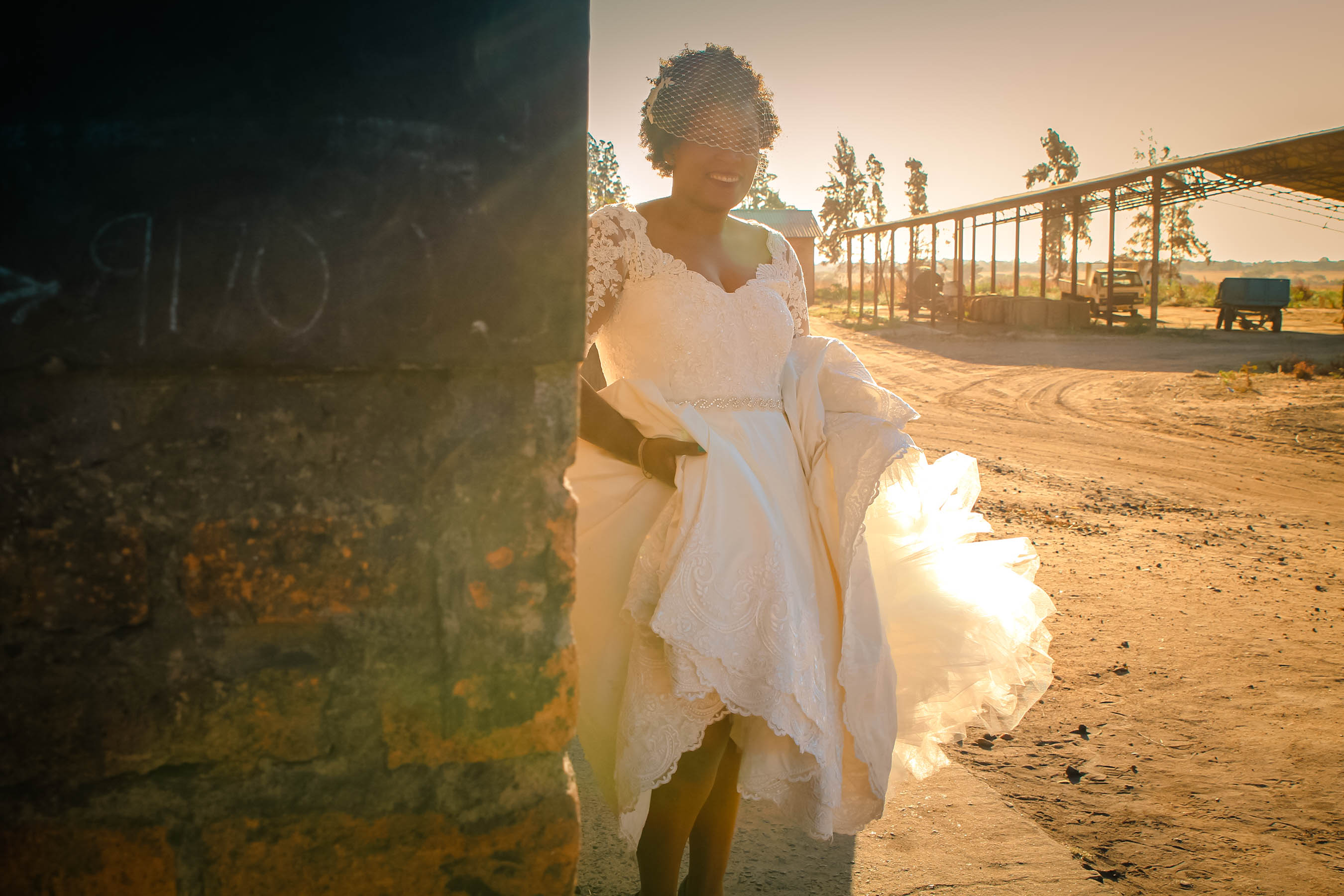 Alana van Heerden Wedding Gowns - Ruvimbo Mutukwa