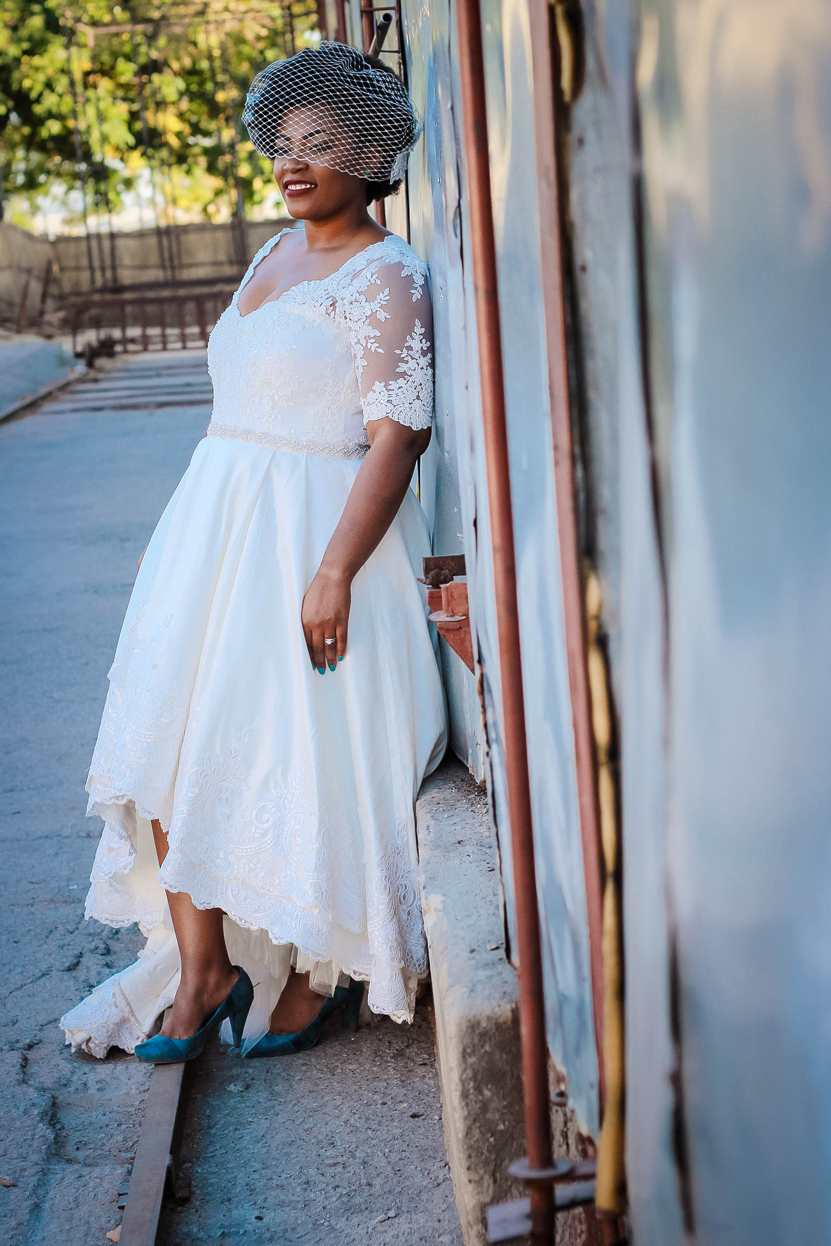 Ruvimbo Mutukwa - Alana van Heerden Wedding Gowns