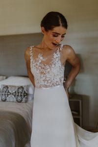 Alana van Heerden Wedding Gowns   Bride Magda's Wedding Dress