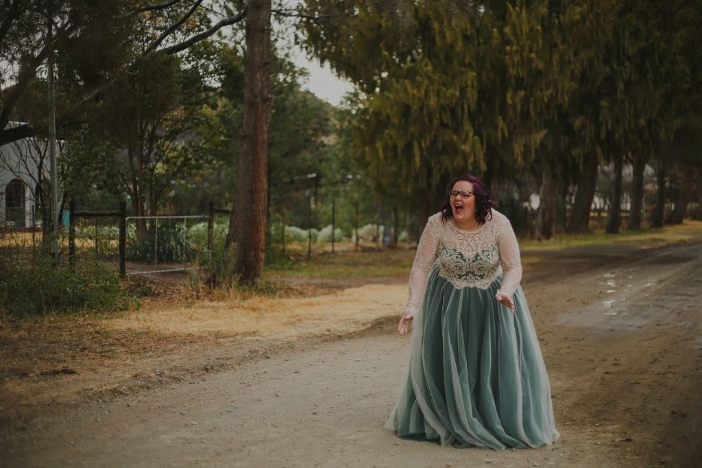 Jeannie's Dress by Alana van Heerden Wedding Gowns